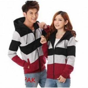 Jual Jacket Kombinasi Couple Online Murah di Jakarta Lengan Panjang Trendy