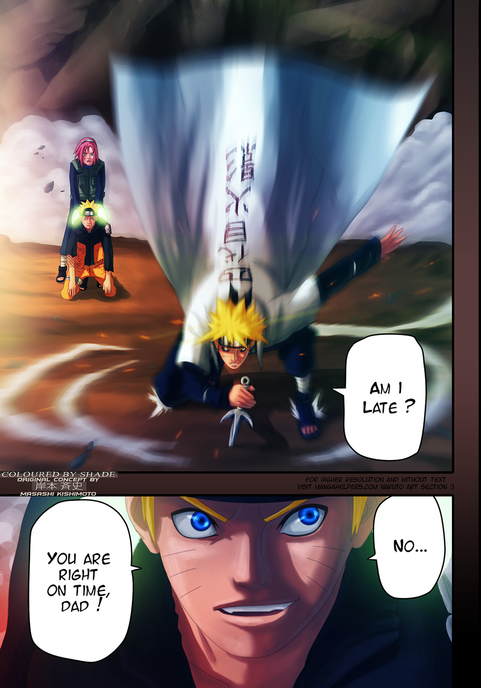 Naruto chap 635 Trang 19