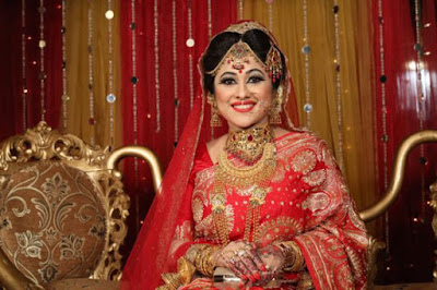 Bangladeshi Actress Sumaiya Shimu in Marriage Ceremony