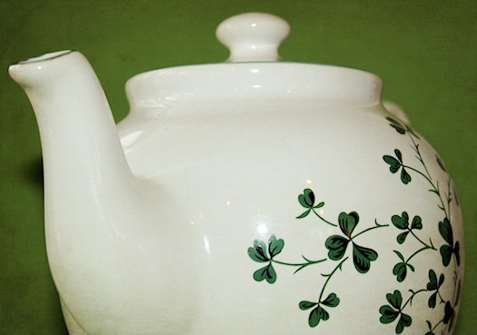 My Shamrock Teapot Spout Photo by Tori Beveridge AHWT