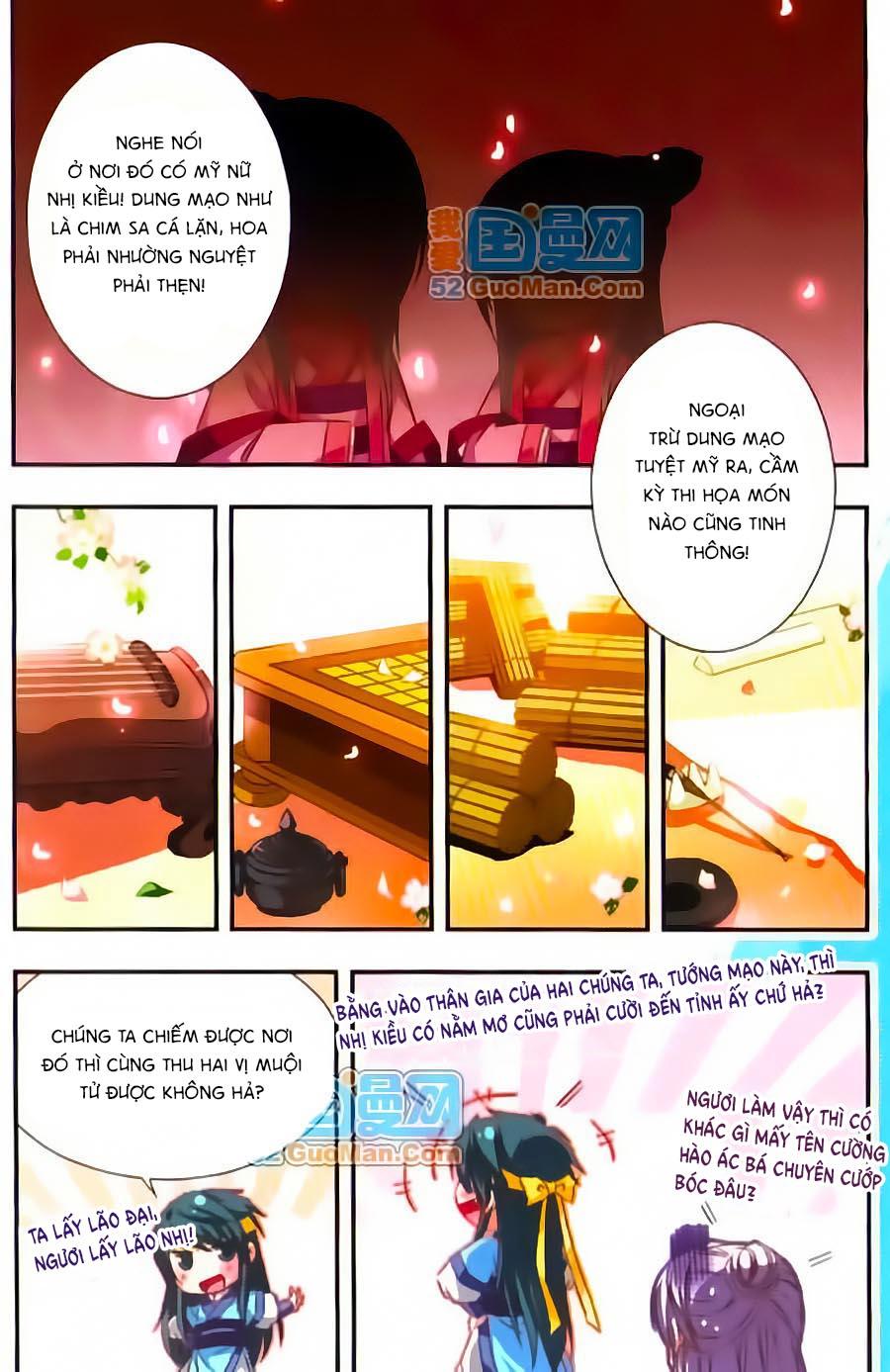 Manh Tam Quốc Chap 53.5 - Next Chap 54