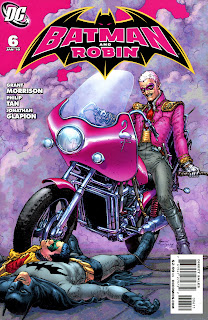 THE FLAMINGO, a villain so awesome on so many levels I don't even know where to start