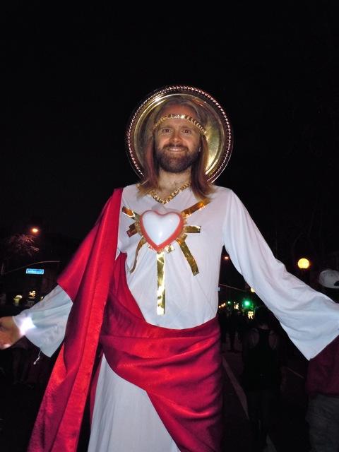 WEHO Halloween Carnaval Jesus