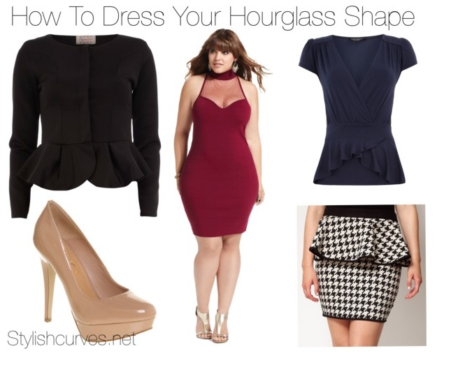 How To Dress An Hourglass Figure With A Big Tummy Dress
