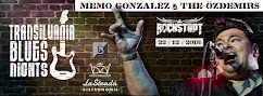 Memo Gonzalez la Brasov la Transilvania Blues Nights !