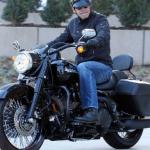George Clooney celeb on motorcycles
