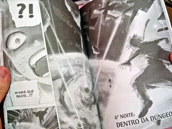 Página da Edição Brasileira - Editora JBC