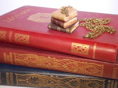 Handmade Books Pendant £18-23