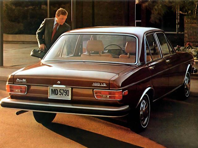 Audi 100 - primeira geração