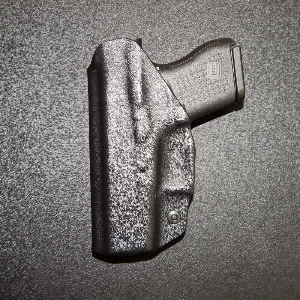 glock 43 iwb holster, glock 43 holster, glock 43 kydex holster, custom glock 43 holster, owb nfor glock 43
