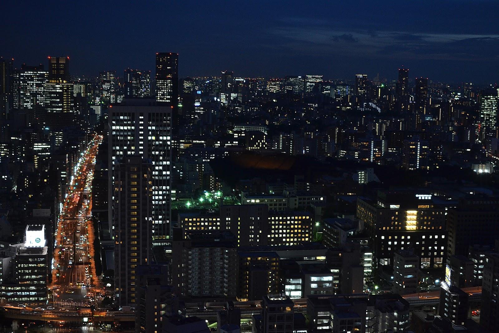 Tokyo tower view at night, must do tokyo, Japan