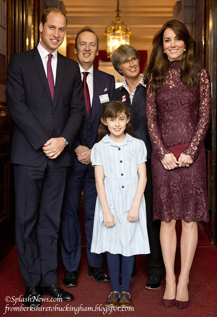 Kate Surprises In Dolce Gabbana At Lancaster House