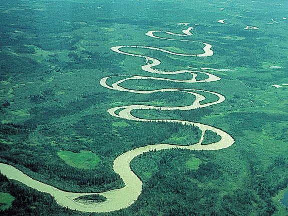 Landforms In The World Fluvial Landform  Braided Channel