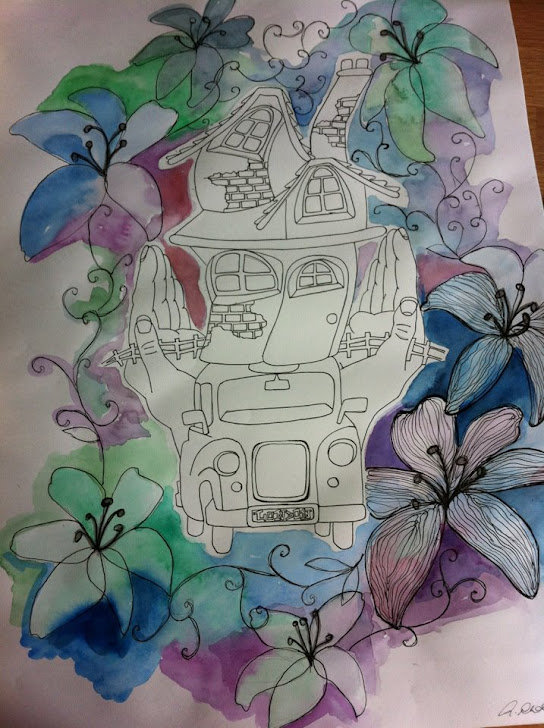 Unfinished Merz FairyTale work.. could possibly be the final