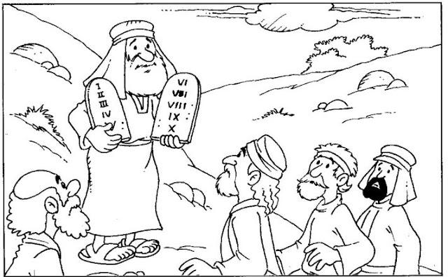 ME ABURRE LA RELIGIÓN: DIOS LE DA LA LEY A MOISÉS