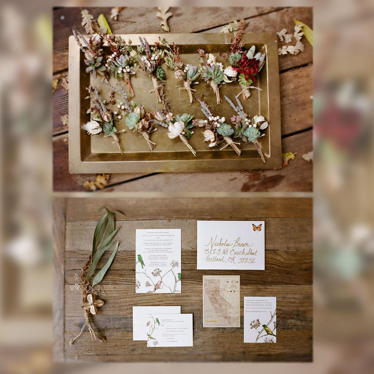 Decoraci n una boda de buc licos aires r sticos la for Decoracion rustica campestre