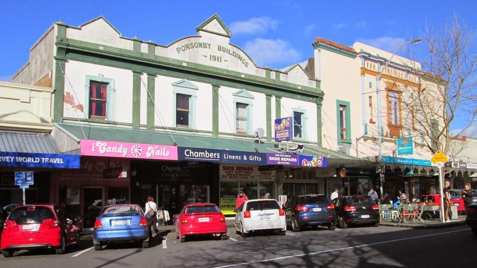 Commerces à Ponsonby Auckland