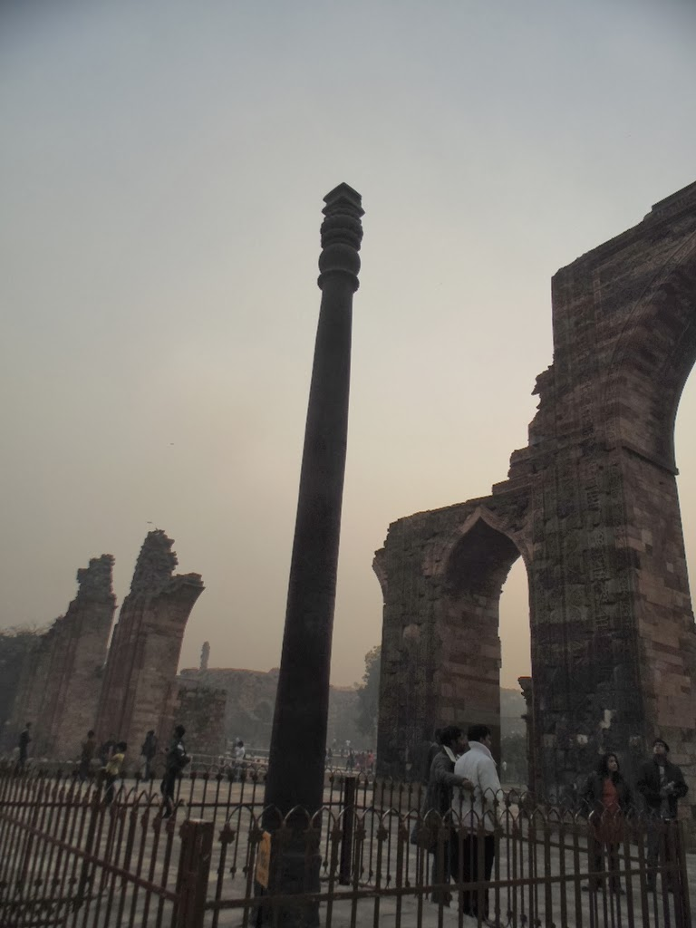 An Iron pillar which hasn't rusted for last 1600 years.