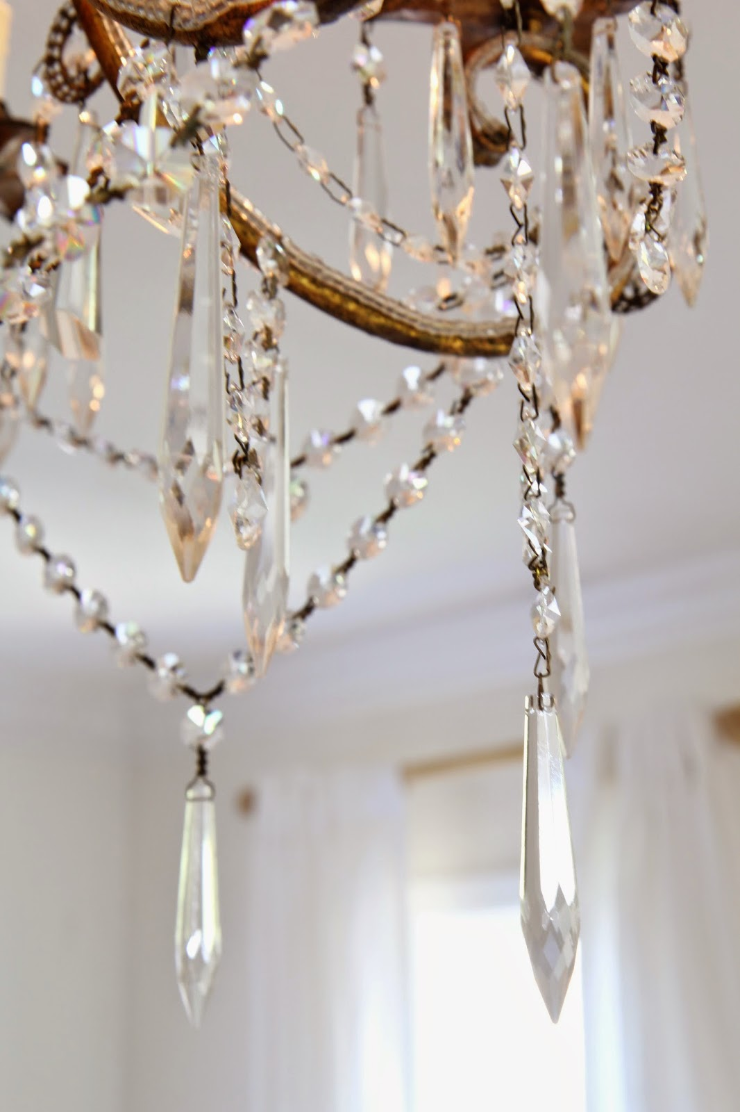 Icicle Crystals; Chandelier for the Master Bedroom; Nora's Nest