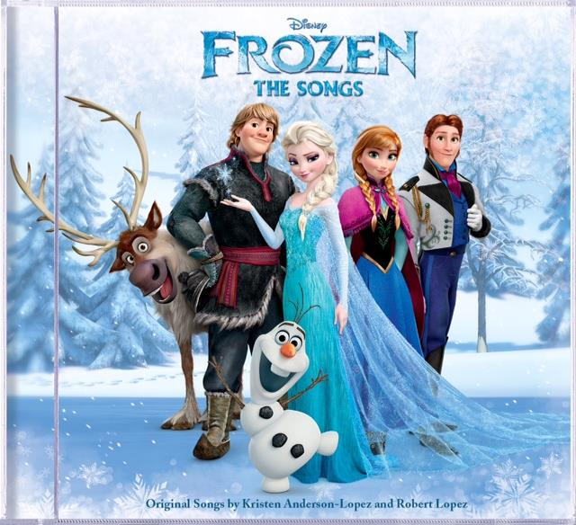 Disney's Frozen Songs CD