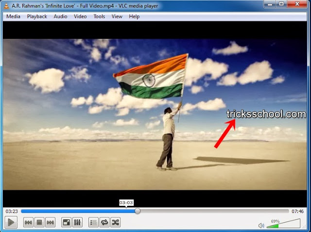 How to Add the Text in Video on VLC Player