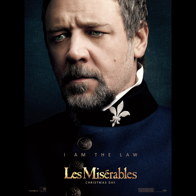 Les Miserables Russell Crowe HD iPad wallpaper 06