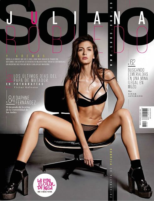Juliana Robledo Revista SoHo Colombia Julio 2015 + PDF