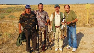 Club de Tiro Aranjuez descaste de conejos en Sotomayor