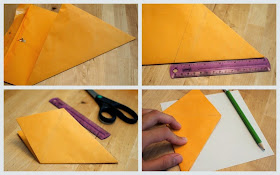 how to make a DIY gift pizza box