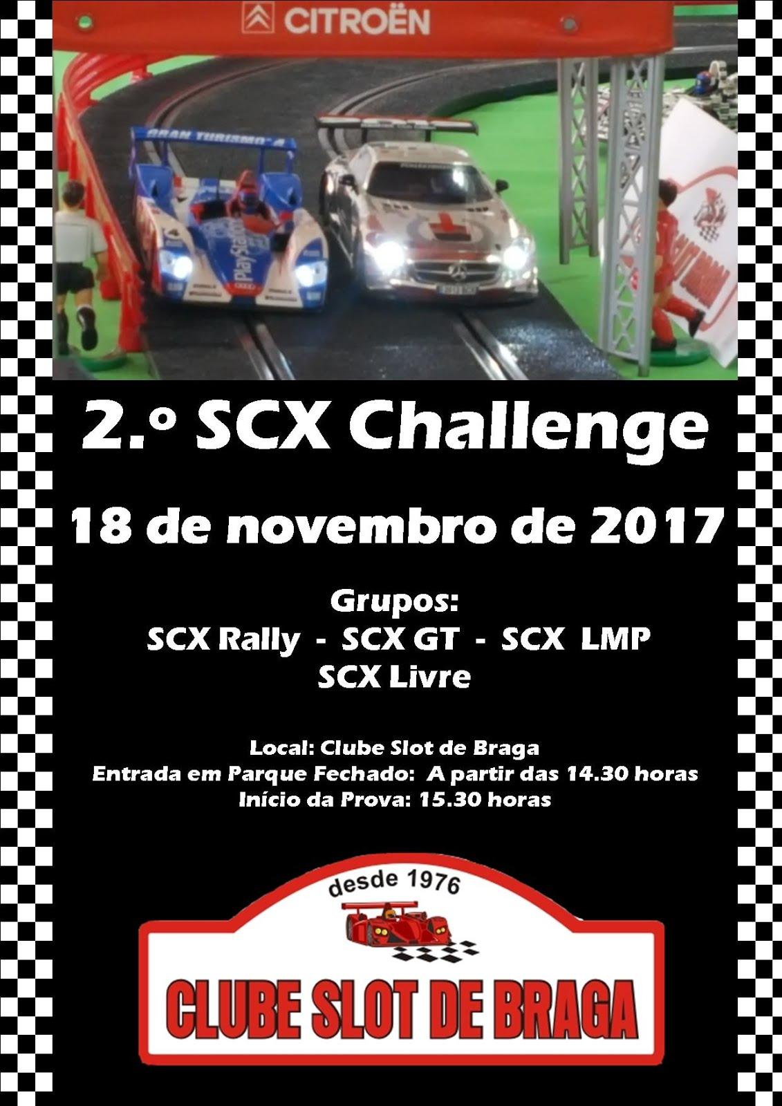 2.º SCX Challenge 2017