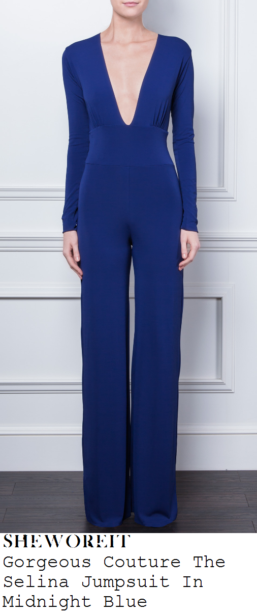 sam-faiers-navy-midnight-blue-deep-v-neckline-long-sleeve-wide-leg-jumpsuit-dublin