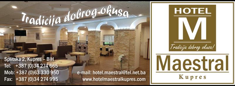 HOTEL MAESTRAL KUPRES
