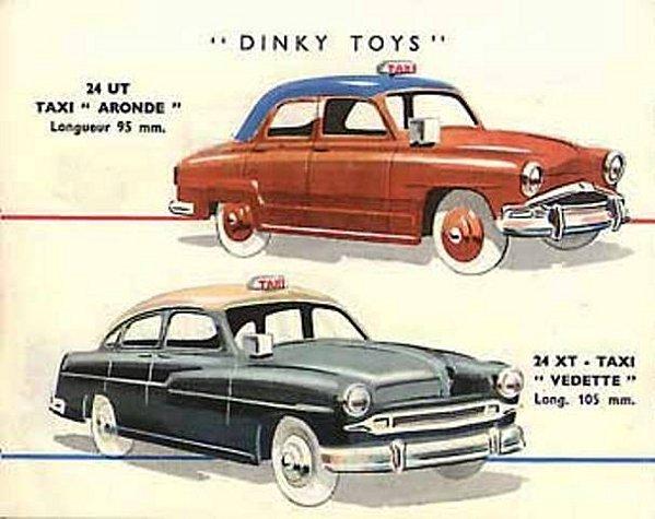 garage de poche les comparaisons de thierry simca aronde taxi 1956. Black Bedroom Furniture Sets. Home Design Ideas