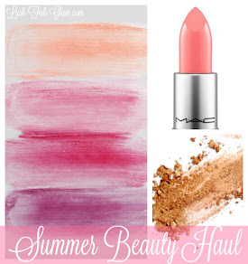 Summer Beauty Haul: Enhance your summer glow with these primping goodies.