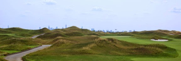 Trump Golf Links at Ferry Point photo by Dave Donelson