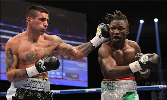 Matthsse ended Ajose undefeated streak to claim the WBC lightweight title at Las Vegas