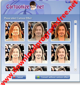 برنامج تحويل الصور الى كرتون ImageCartoonize