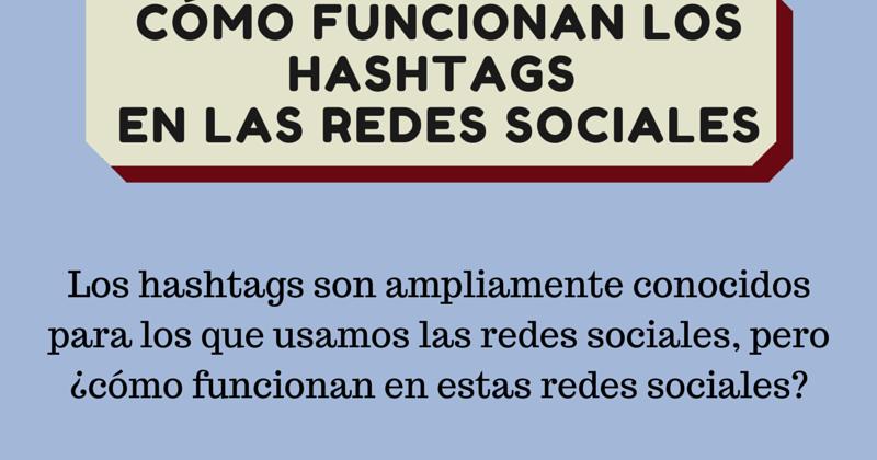 C mo funcionan los hashtags en las redes sociales - Como funcionan los emisores termicos ...