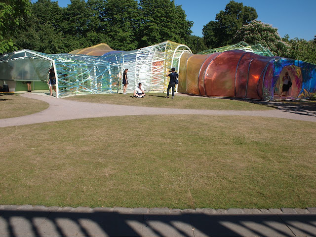The 2015 Serpentine Pavilion, designed by Spanish architects Selgascano