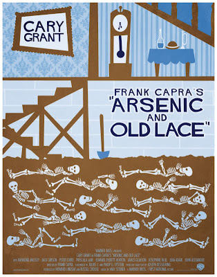 Arsénico por compasión, poster