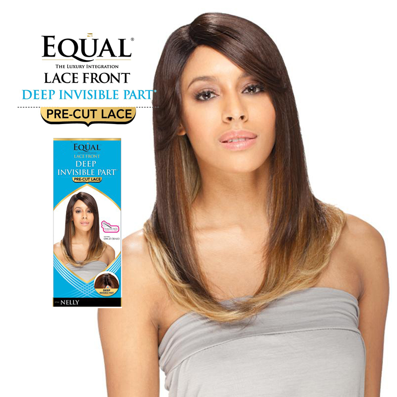 .com: Freetress Equal Lace Front Deep Invisible Part - Nelly