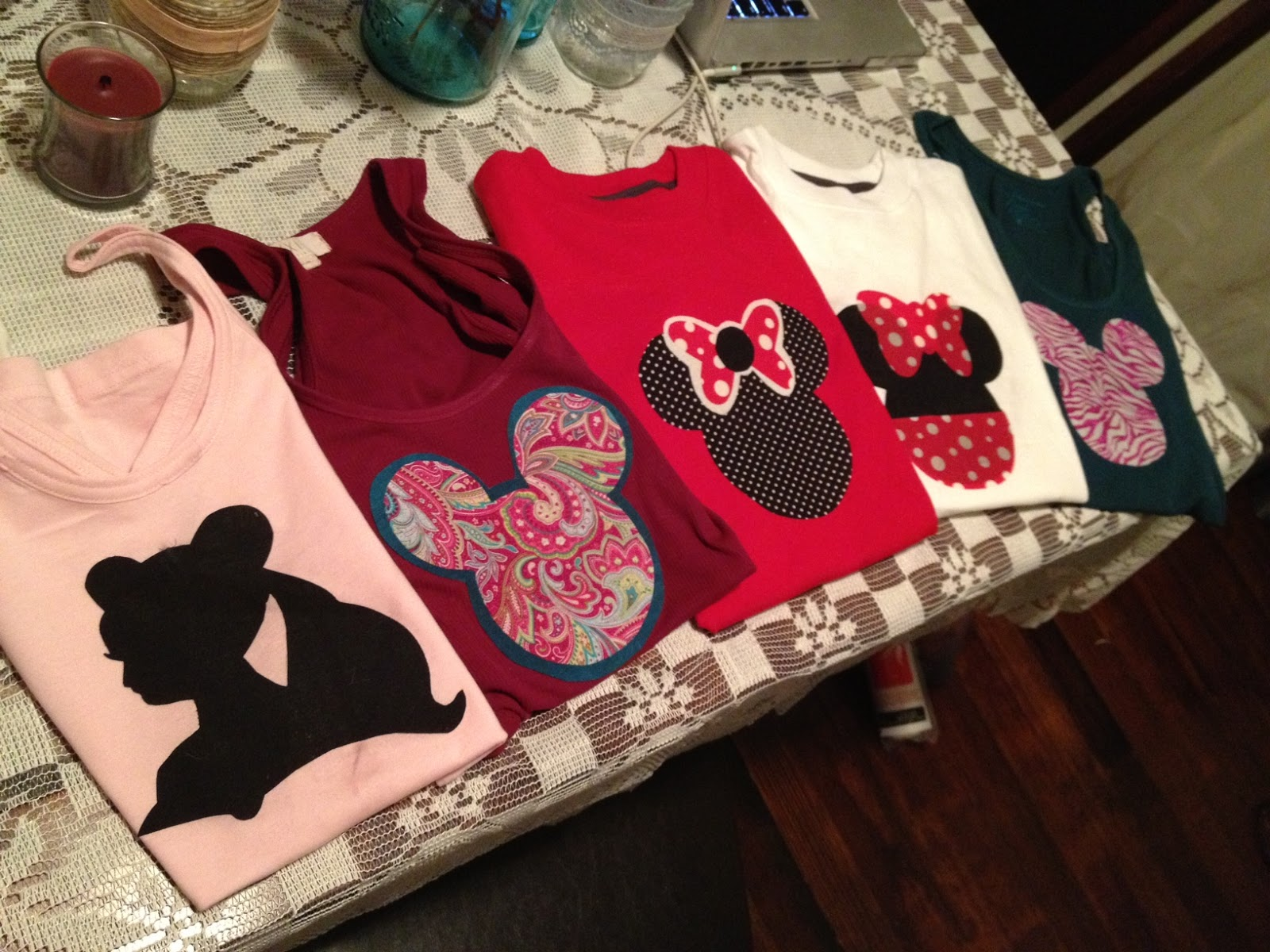 Dinners and doodles diy easy disney shirts for Where can i create my own shirt