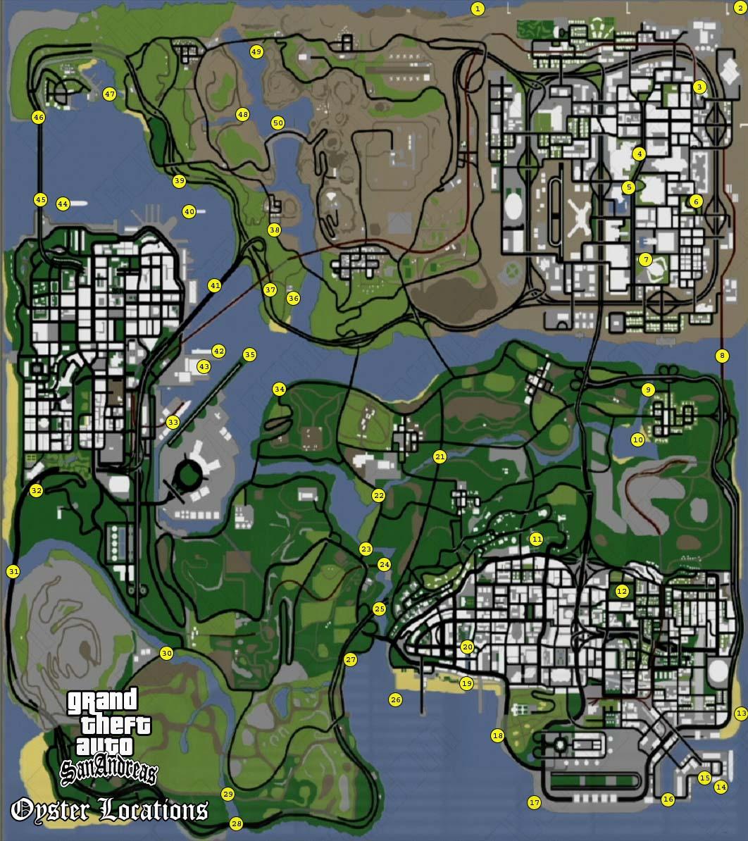 GTA : SAN ANDREAS Hidden&Secret Place