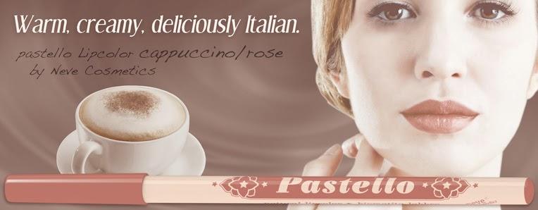 Neve Cosmetics - Pastello labbra Cappuccino/Rose