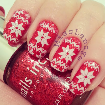 british-blogging-christmas-guest-post-red-christmas-jumper-nail-art