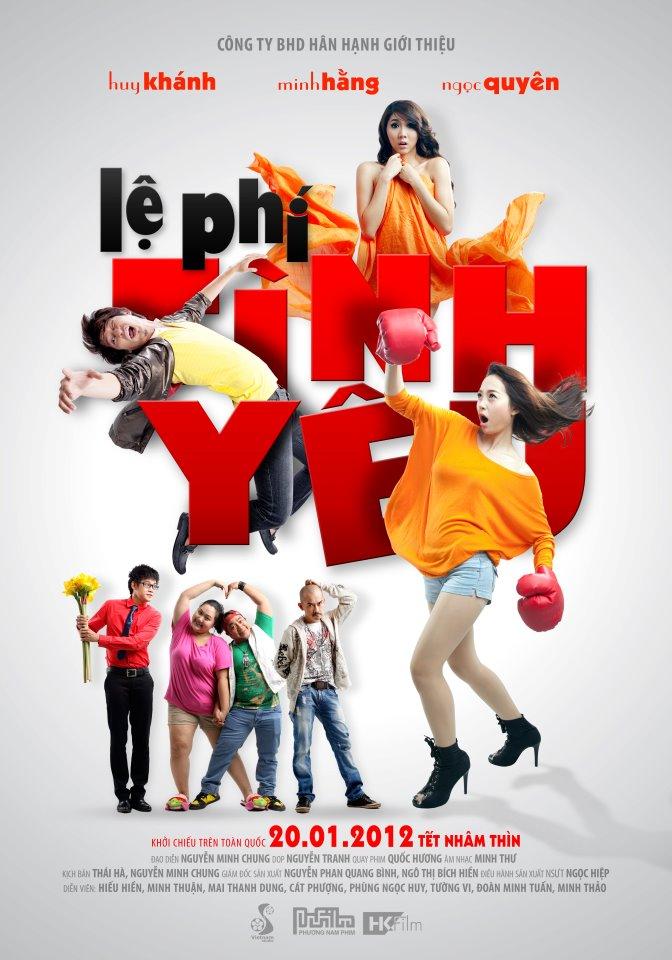 Phim Việt Nam- Lệ Phí Tình Yêu 2012 | Minh Hằng - Huy Khánh [Full]