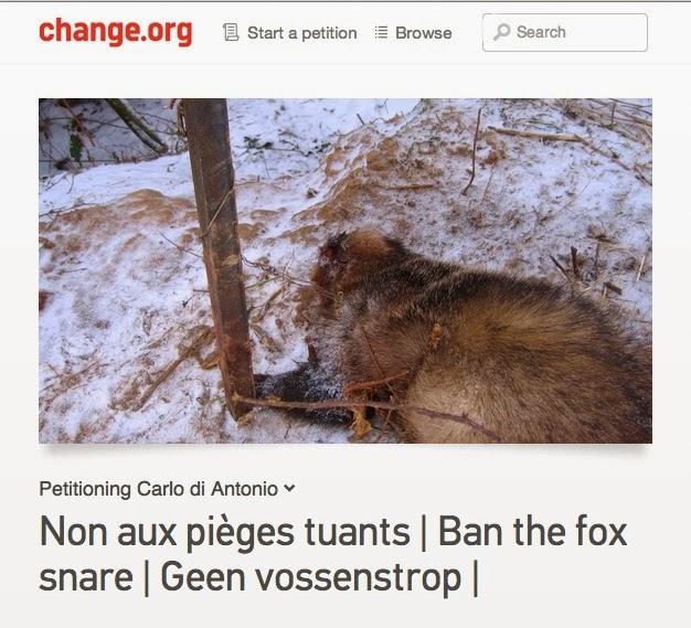 Teken de petitie!