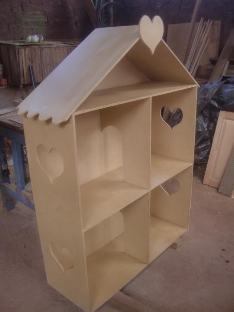 Decoraciones manualidades en madera como pintar casa de - Como pintar techos ...