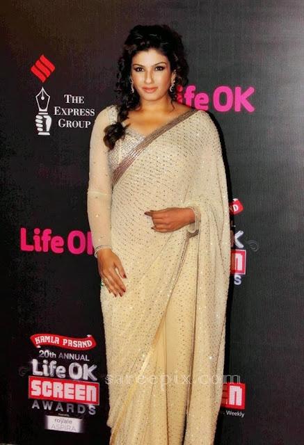 Raveena-tandon-saree