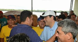 Senador Eduardo Braga ouve a população de Novo Aripuanã